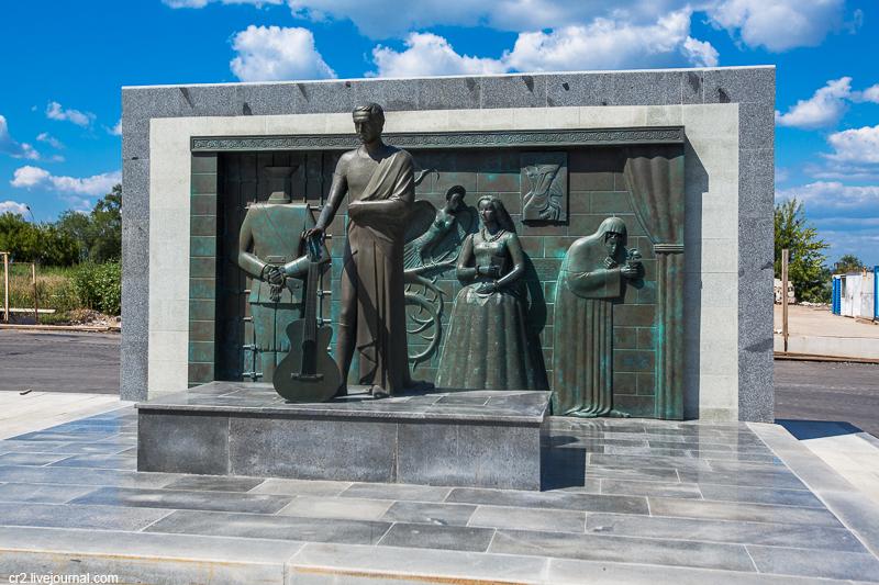 Памятник Владимиру Высоцкому в Самаре