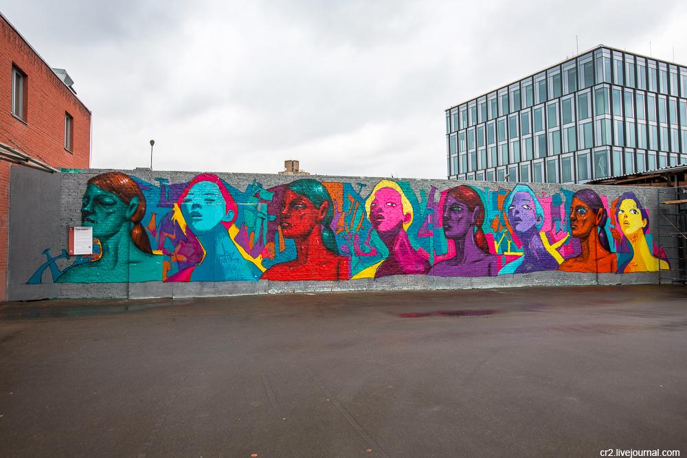 """Москва. Граффити """"Винзавода"""""""