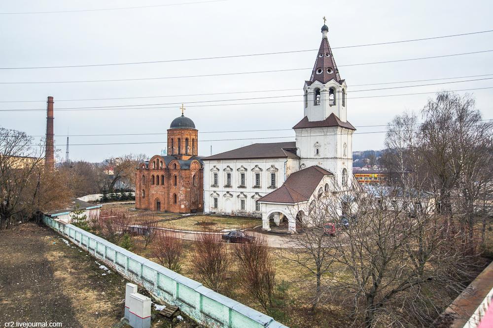 Смоленск. Церковь, которая на год старше Москвы