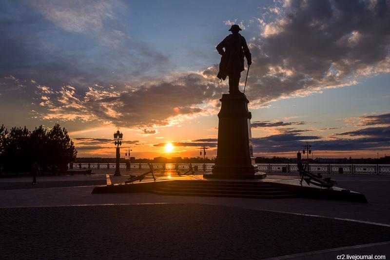Вечер в Астрахани