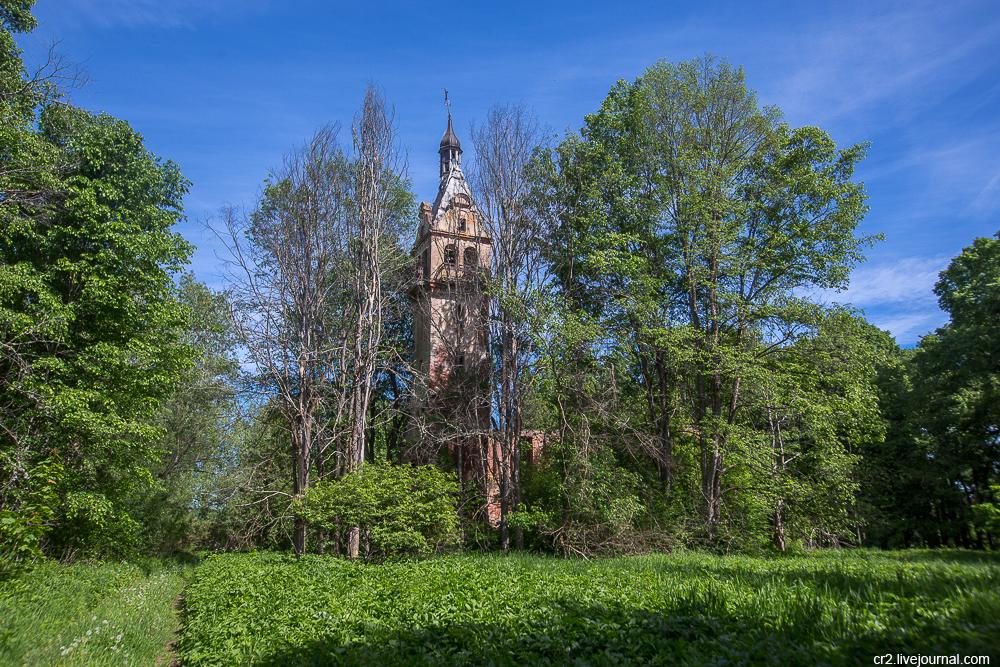 Новгородская область. Усадьба Каменка