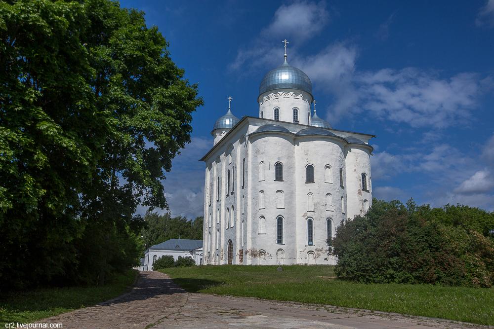Великий Новгород. Юрьев монастырь