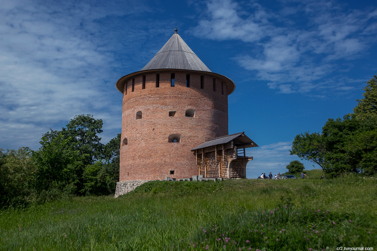 Великий Новгород. Белая башня