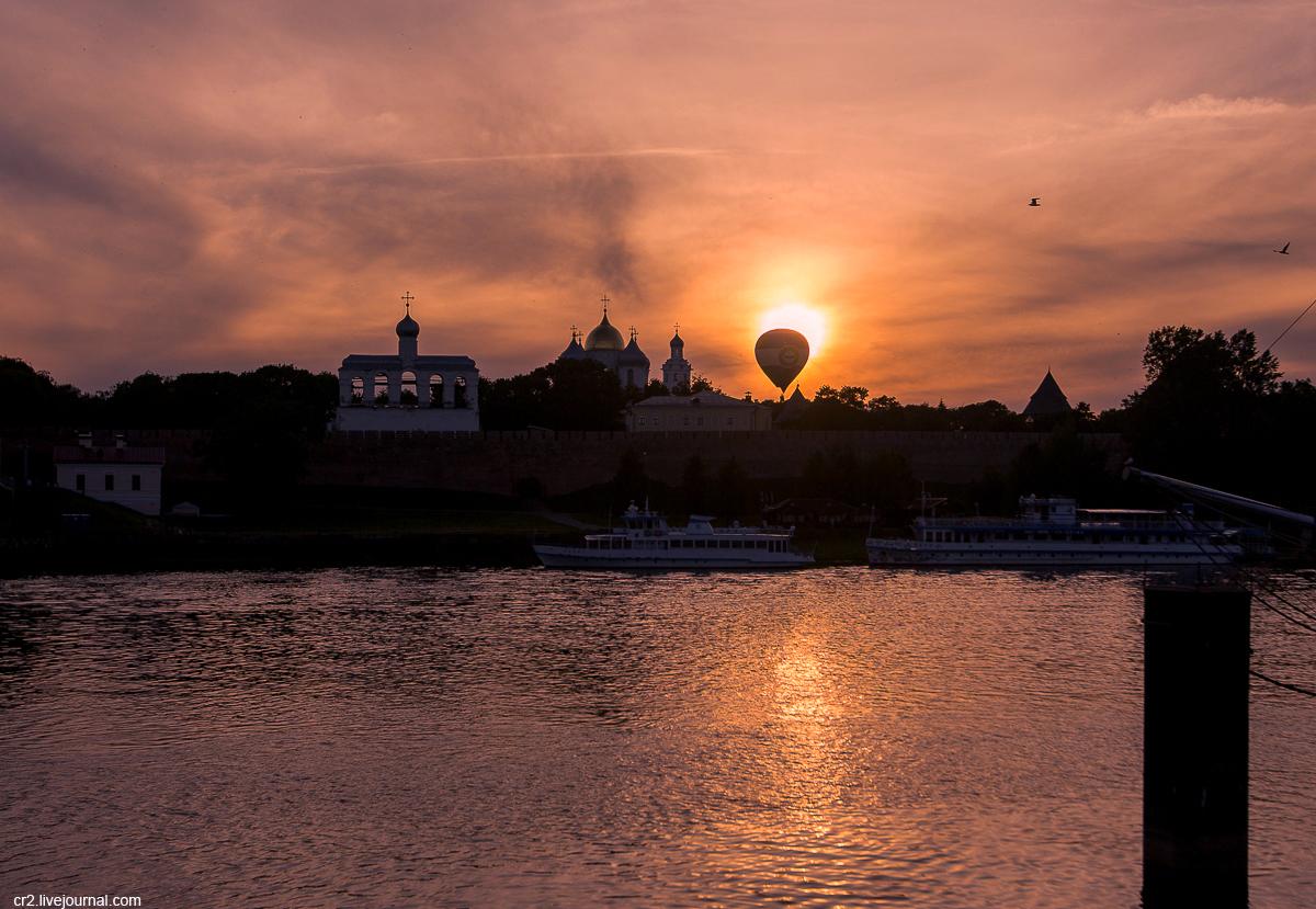 Великий Новгород. Детинец и Торг