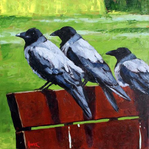 три вороны