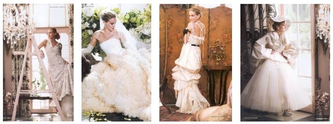 свадебное платье коллаж