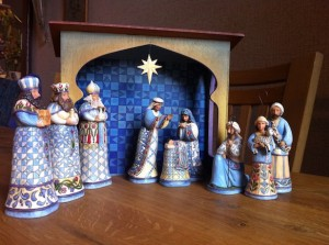 Jim-Shore-folk art Nativity