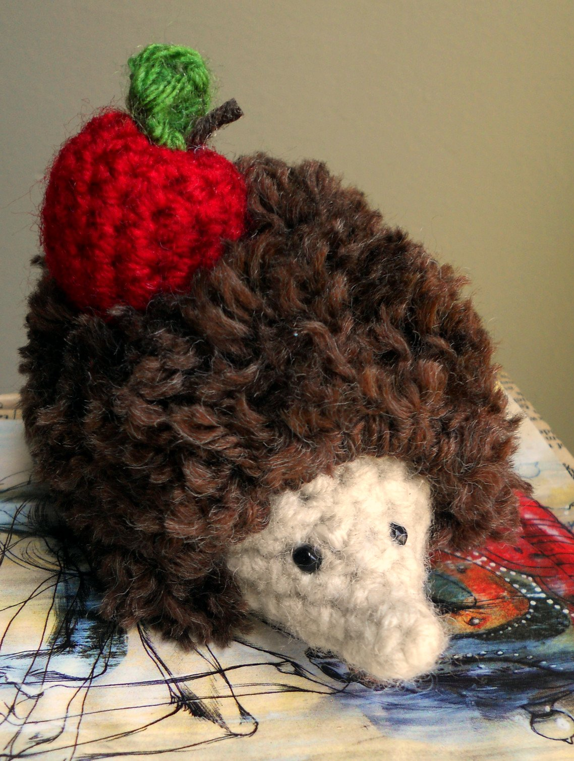 Crocheted Hedgehog