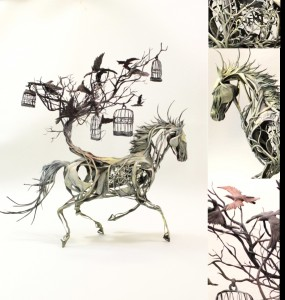 horsewithbirds1