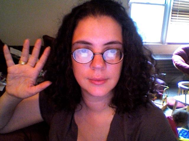 Delia's cute curly hair