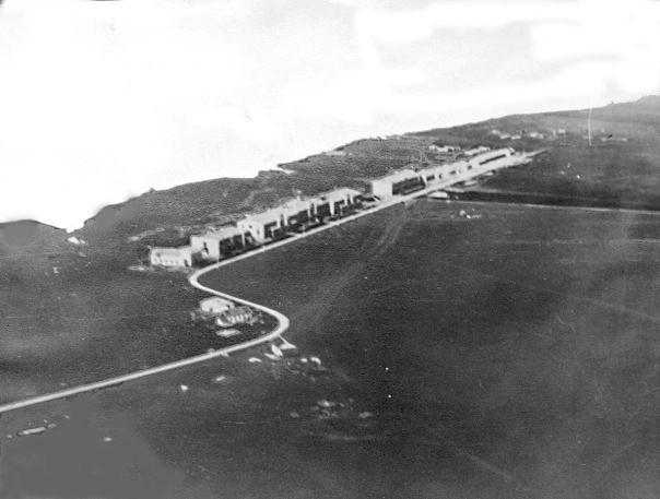 первые постройки