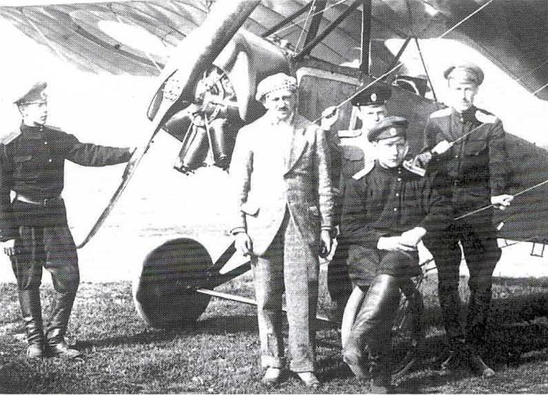 Михаил Ефимов со своими учениками