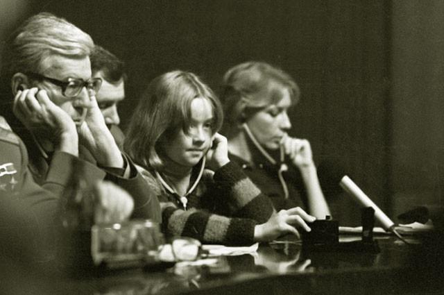 Ника Турбина на Московской международной книжной выставке. 1985 год.  РИА Новости