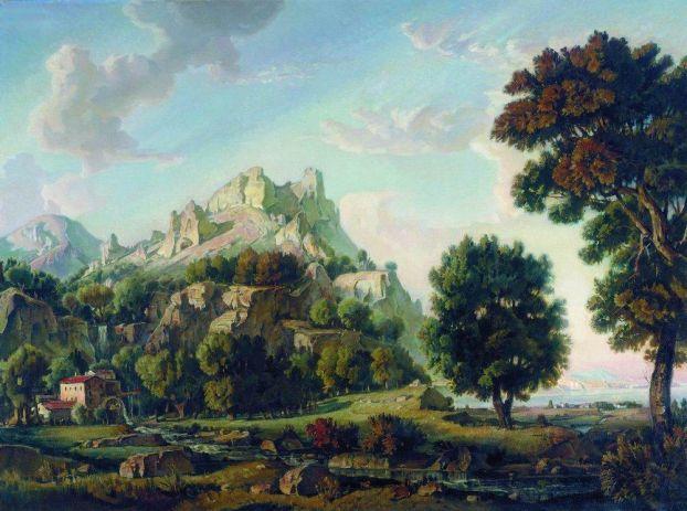 Крымский пейзаж (1930г.)