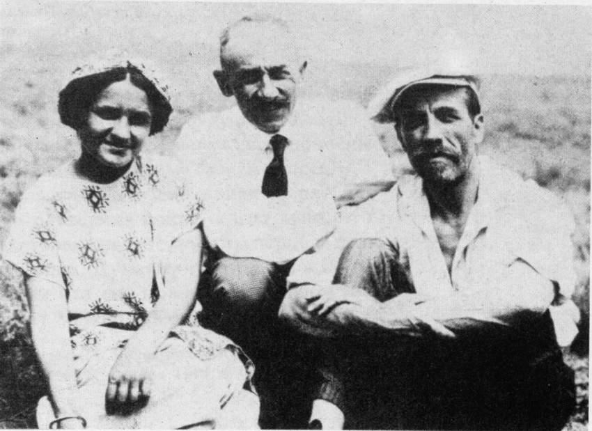 художники Оболенская-Богаевский-Кандауров (1914 год)