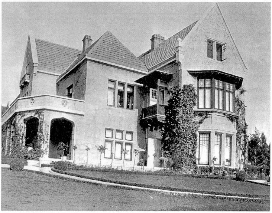 Южный фасад 1905-1907