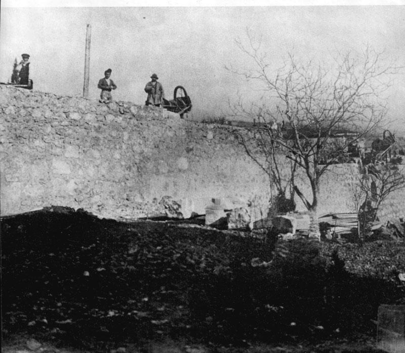 возведение подпорной стены на участке