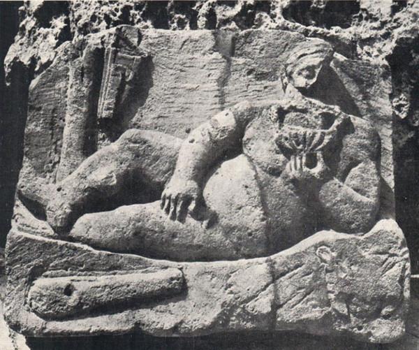 Геракл во время отдыха в Керкинитиде