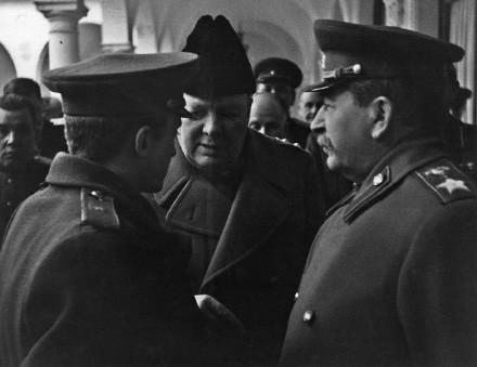 Сталин, Черчилль и ..переводчик
