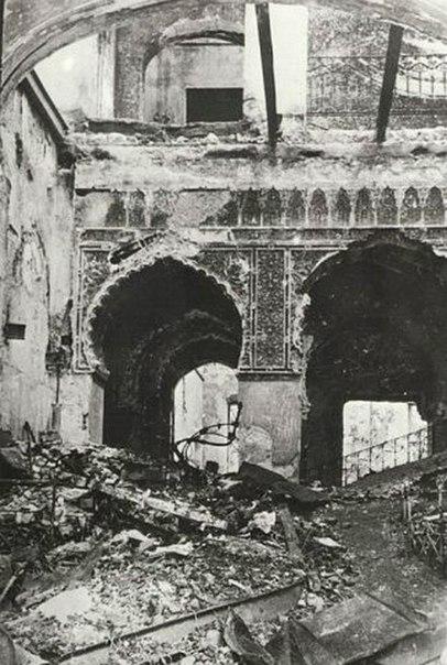 развалины дворца Суук-Су (1944)