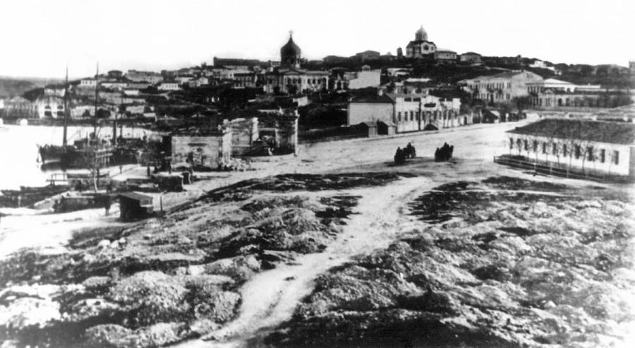 площадь в 70-г гг.XIX cтолетия