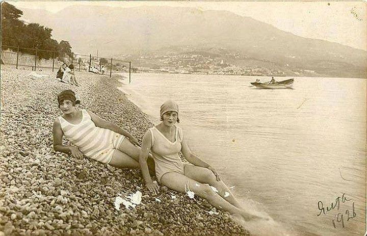 Ялта, 1926 год купальщицы