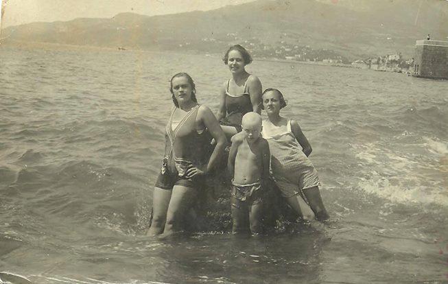 массандровский пляж в конце 20-х