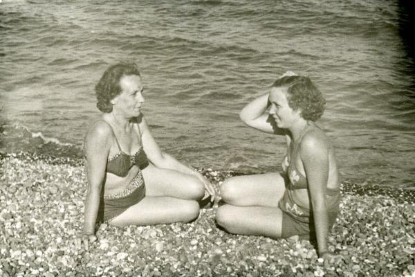 Крым. Алушта, 1953