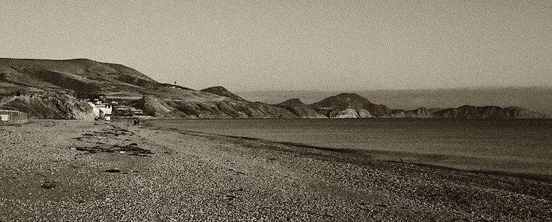 Пляж.Вид на М.Хамелеон