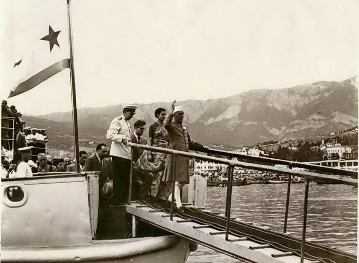 в ялтинском порту (1955)