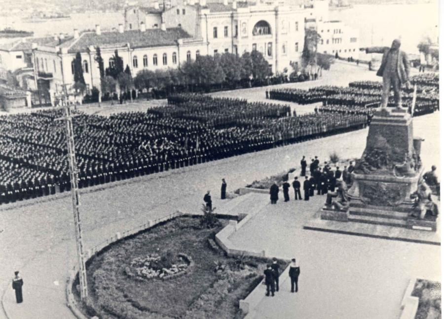 площадь Ленина перед войной (1941)