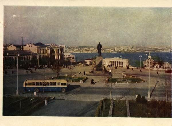 площадь в 60-е гг. 20 века