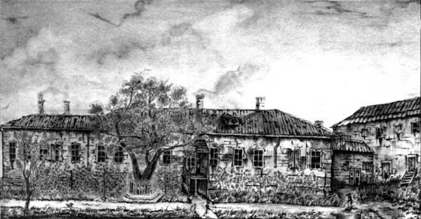 путевой дворец Екатерины в Херсоне