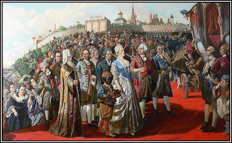Екатерина в Севастополе