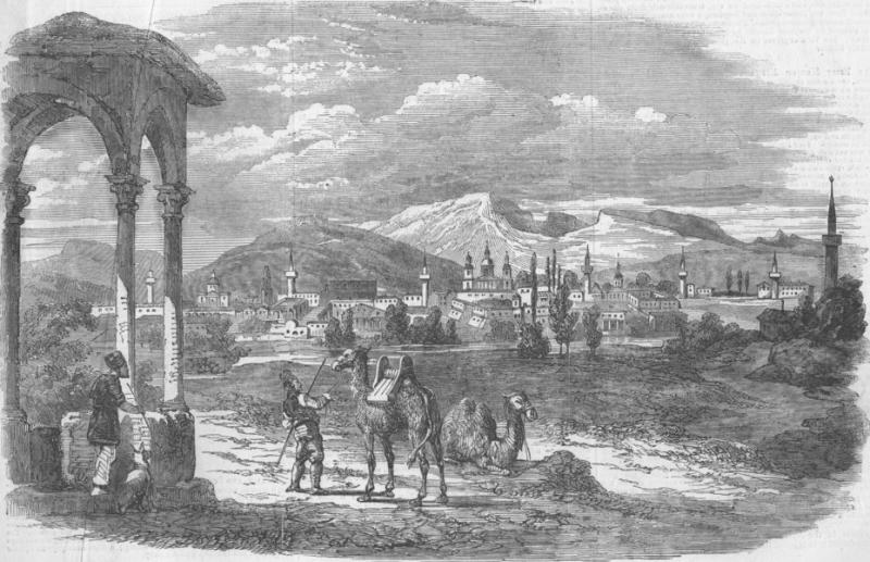 Карасубазар (гравюра середины 19 века_