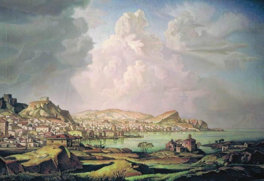 Кафа К.Богаевского