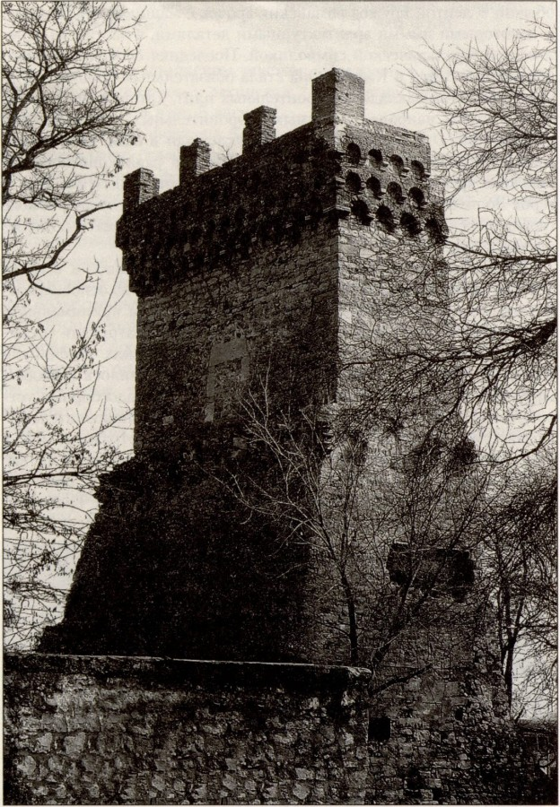 Башня Константина. Современное фото