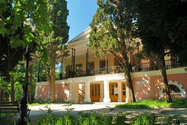Дом Ришелье в Гурзуфе (сейчас музей А.С.Пушкина)