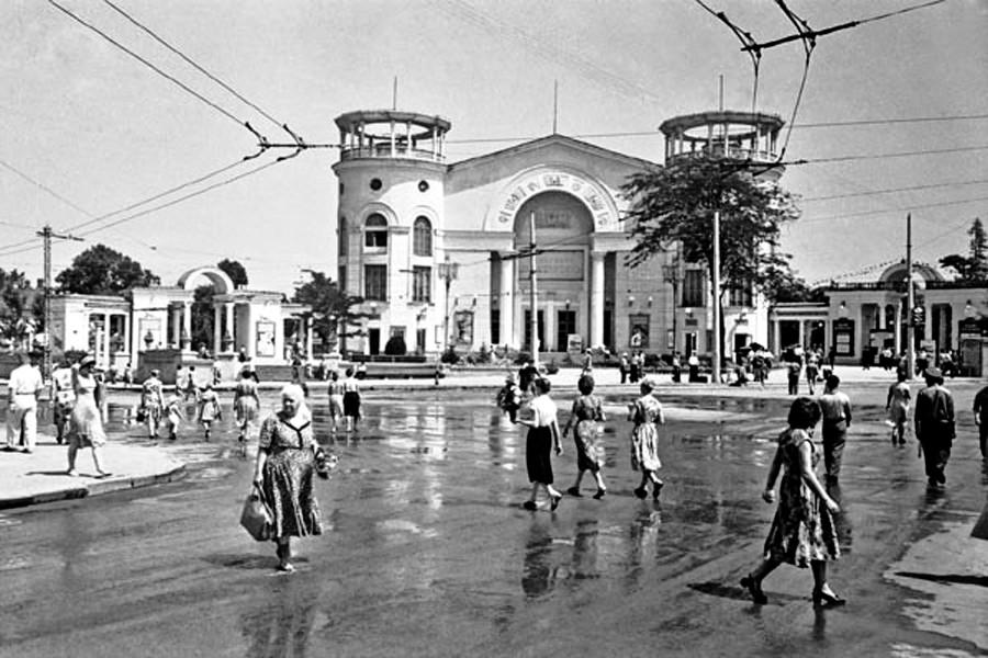 кинотеатр Симферополь (70-е гг. ХХ века)