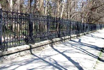 забор в Детском парке