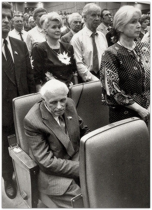 Андрей Сахаров на съезде