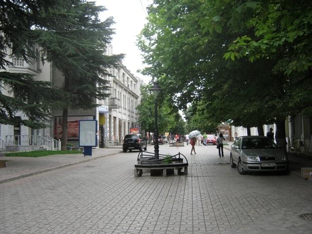 современные фонари на улице Пушкина