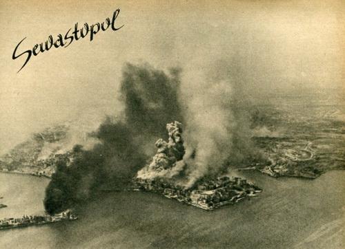 Горящий Севастополь
