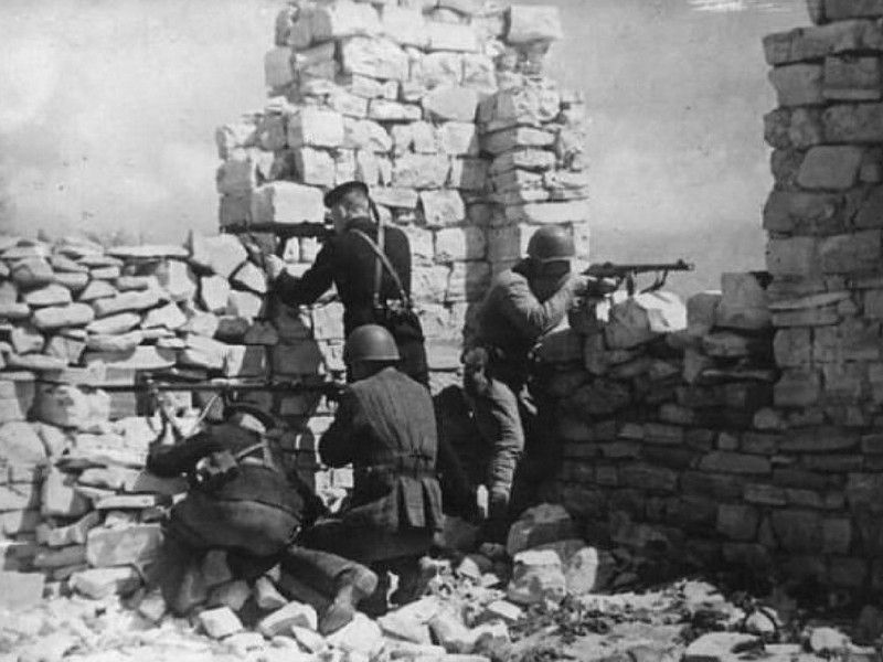 морская пехота в боях за Севастополь