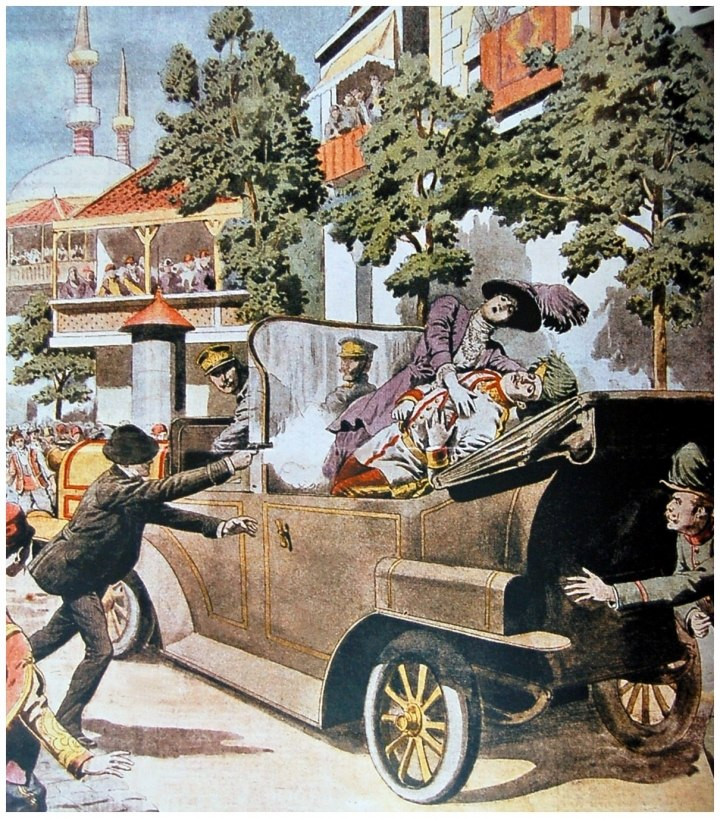 Убийство франца в сараево картинки
