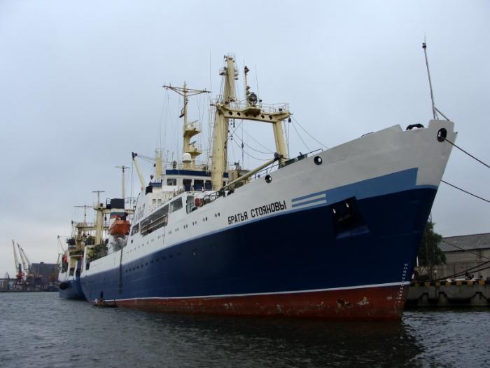 рыболовецкое судно ьратья стояновы