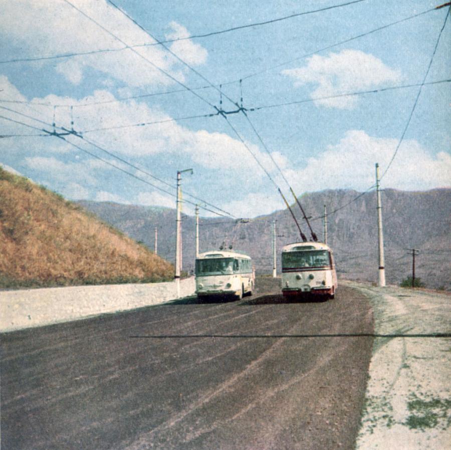 Трасса Симферополь - Алушта, Кутузовский фонтан (1966)
