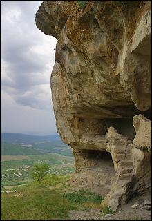 Нижний ярус Тепе-Кермена
