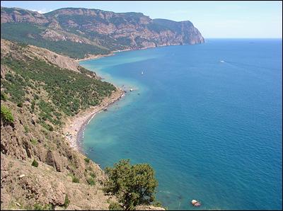 Драгоценные пляжи Балаклавы