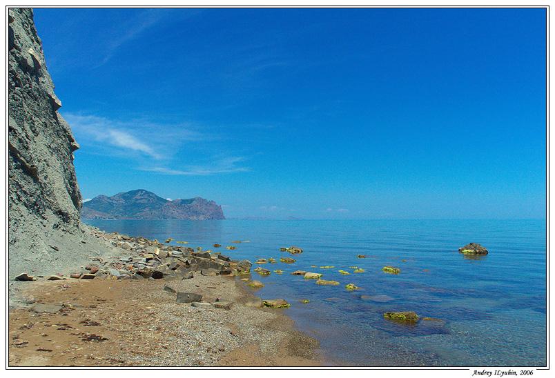 Синее-синее море